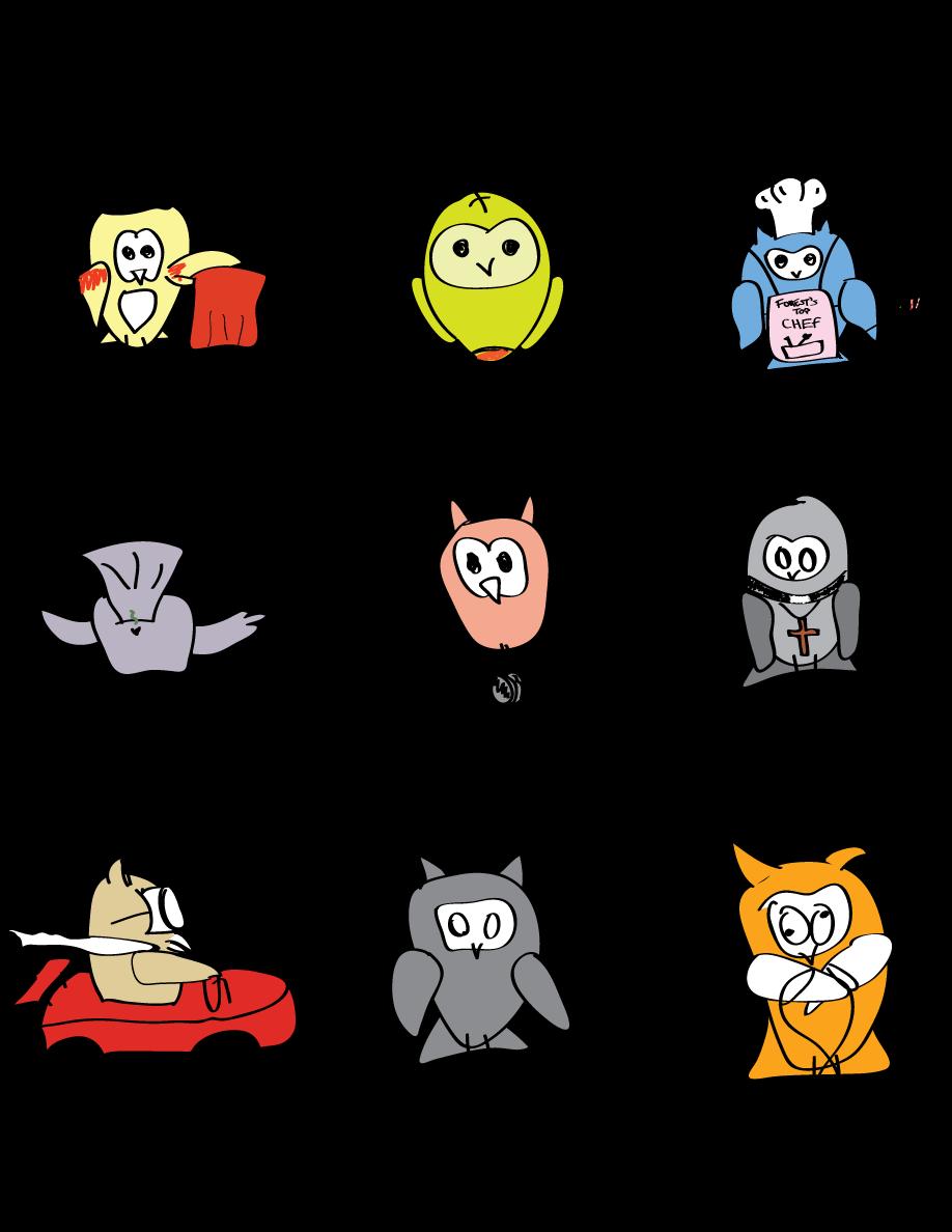 Who let the owls out? Hoo! Hoo! Hoo! Hoo!